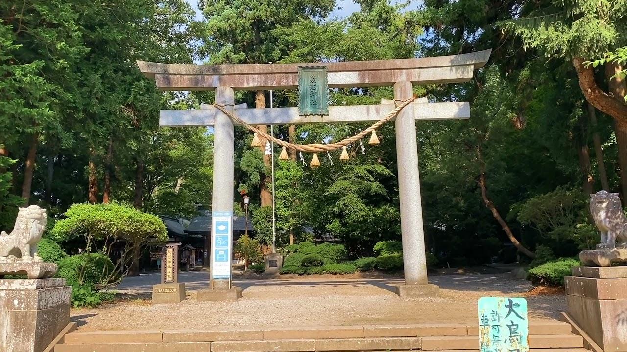 岩手水沢の氏神様、駒形神社へ参拝さんぽ