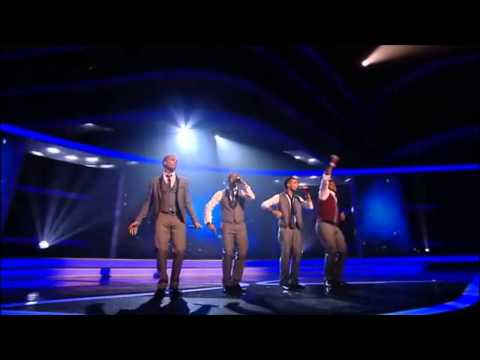 JLS - Stand by Me/Beautiful Girls (The X Factor UK 2008) [Live Show 7 - Bottom 2]