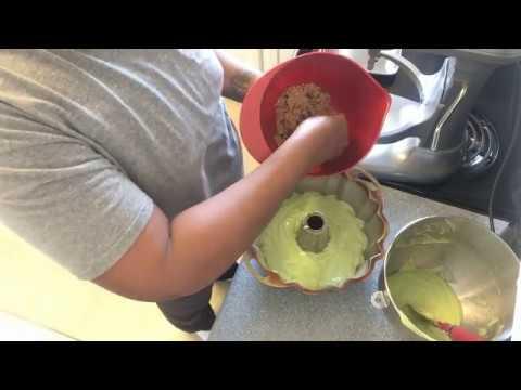 How to make a Pistachio Cake