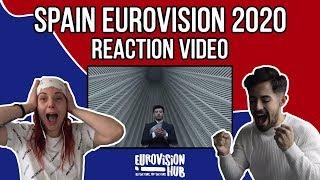 Spain | Eurovision 2020 Reaction | Blas Cantó - Universo