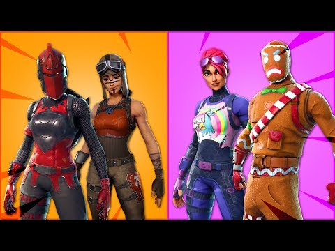 TOP 10 TRYHARD SKINS OF ALL TIME.  (Fortnite Battle Royale)