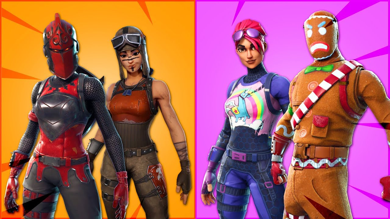 TOP 10 TRYHARD SKINS OF ALL TIME. (Fortnite Battle Royale ...