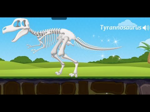 Dinosaur Park - Fossil dig & discovery dinosaur games in Jurassic park for kids By Yateland