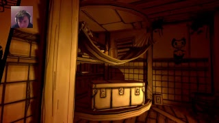 Bendy and the inkmachine  PS4  chapter 1/ 2 The Nightmare begin