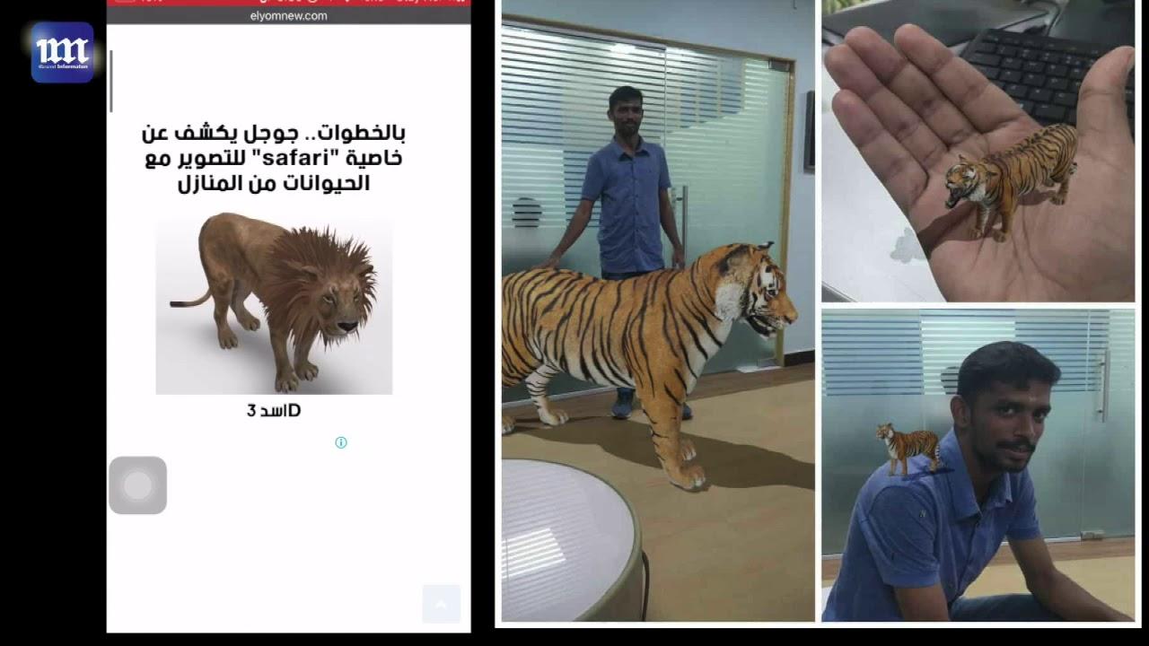 tiger ثلاثي الابعاد