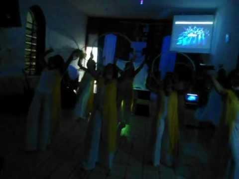 PIB - Grupo de coreografia Órion - Livres para adorar - Rei da Glória