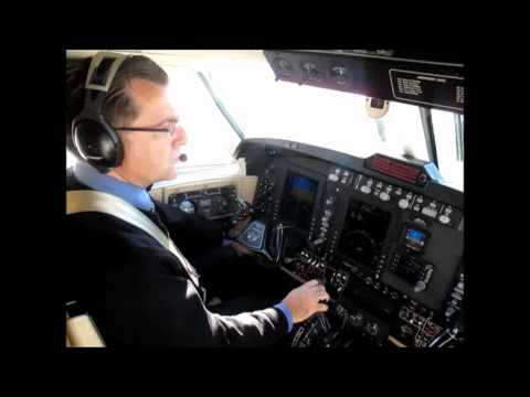 An IFR flight in a King Air 200 from...