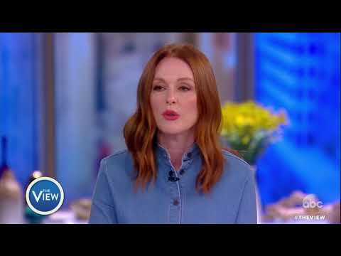 Julianne Moore calls on limiting number of guns people can buy