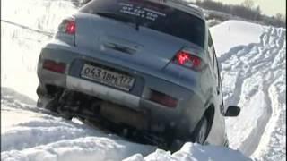 Тест-драйв - Mitsubishi Pajero & Mitsubishi Outlander (2007)