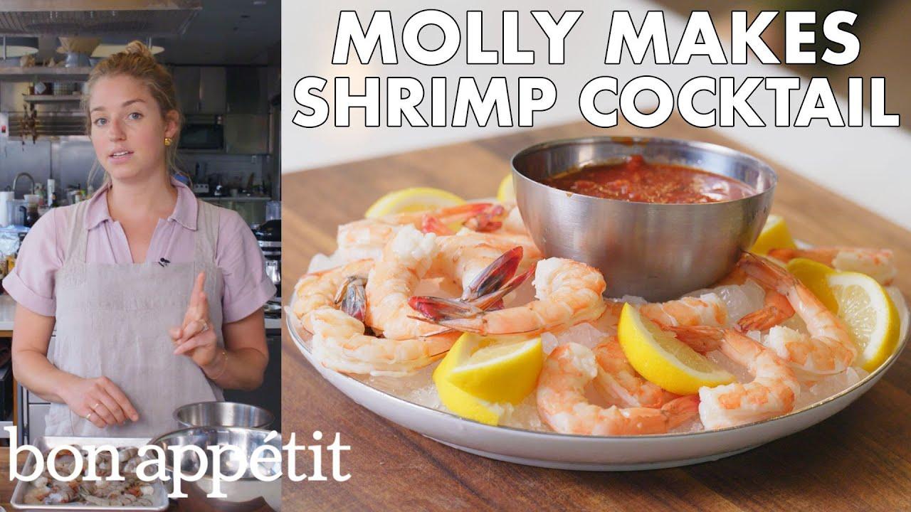 Molly Makes Classic Shrimp Cocktail   From the Test Kitchen   Bon Appétit