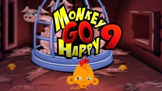 Игра Счастливая Обезьянка 9 Monkey GO Happy 9   прохождение
