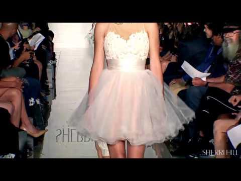 Sherri Hill New York Fashion Week - Spring 2014 Collection
