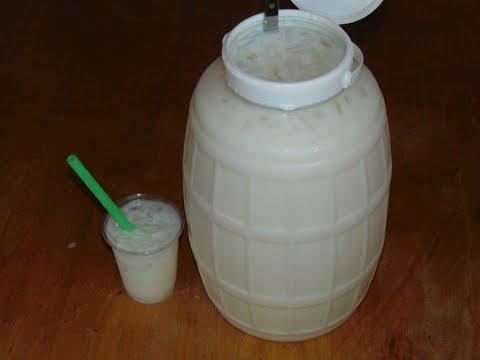 Agua Fresca de Coco para Fiestas | Para Vender