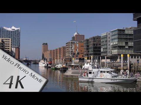 Hamburg, Germany: Hafen, HafenCity - Video 2 - 4K UHD (2160p/60p)