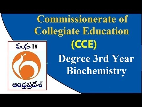 Commissionerate of Collegiate Education (CCE) | Degree 3rd Year ...