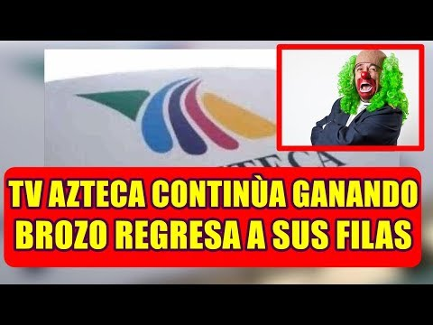 TV AZTECA continùa GANANDO TERRENO a TELEVISA y este FAMOSO REGRESA a sus FILAS