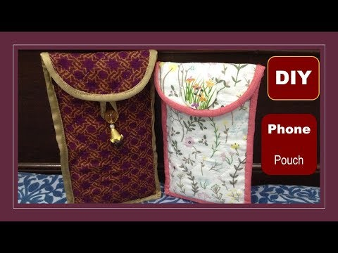 ||DIY||Mobile Phone Pouch|| By Stitching MadeEasy