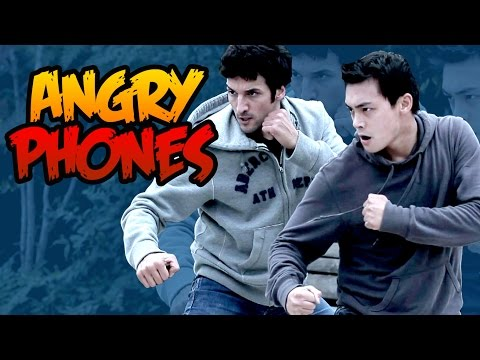Angry Phones  English Subtitle