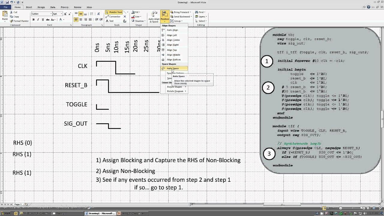 [Verilog] Sequential Logic 00: Verilog-HDL Basics (HDL Design) - Toggle  Flop Example