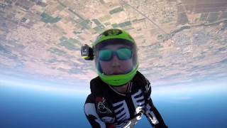 EDU's SKYDIVE LODI august 2015 - Head Down exit's
