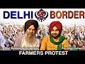 Delhi Border II Bhai Manpreet singh kanpuri with Ravinder grewal II Khalsa aid II Farmers protest