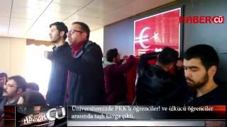 Cumhuriyet Üniversitesi Karıştı. Pkk yandaşlıları ve ülkücüler arasında kavga çıktı.