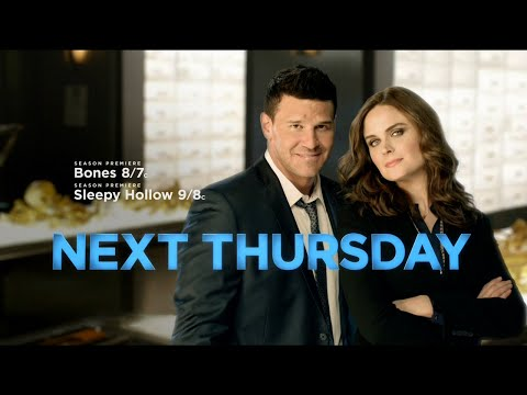 FOX Thursdays Promo: Bones and Sleepy Hollow Return (HD)