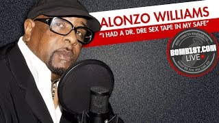 Dr. Dre Mentor Alonzo Williams LIVE - Dre S*x Tape?!?!, Eazy E, Suge & More