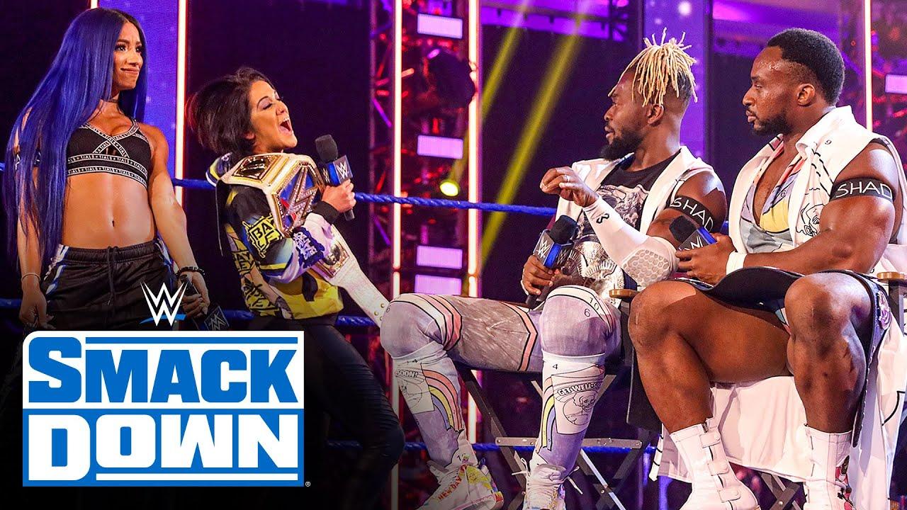 Download Bayley & Sasha Banks interrupt Tag Team Championship Summit: SmackDown, May 29, 2020