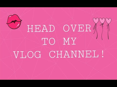 GO CHECK OUT THE NEW VIDEO ON MY VLOG CHANNEL!!