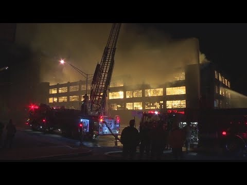Massive Fire Destroys Huntingdon Building, Leaves Over 100 People Homeless