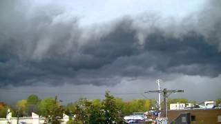 Shelf cloud  Laval, Québec, Canada