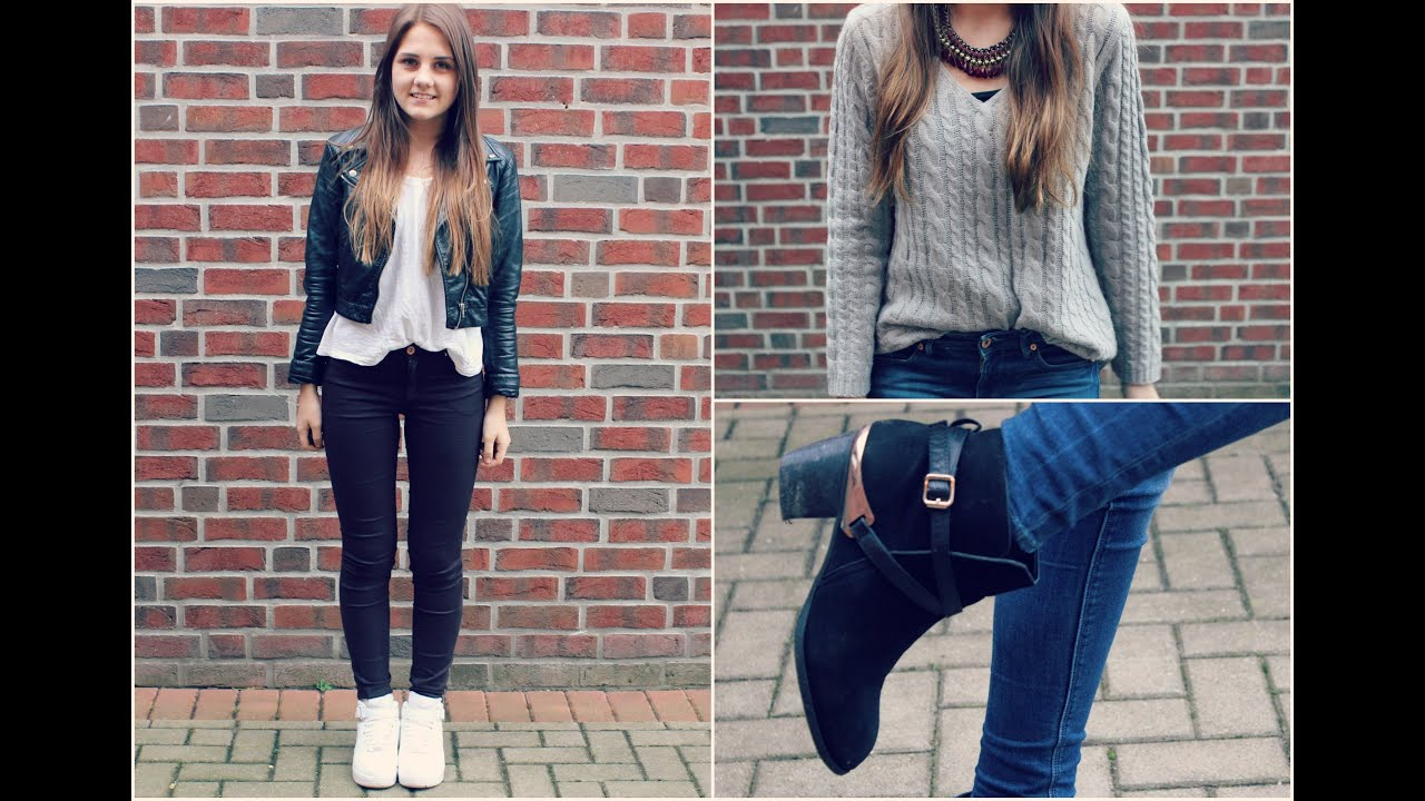 Winter LOOKBOOK ufe0f School Outfits for cold days ufe0f - YouTube