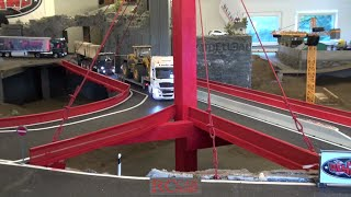 RCTKA Ettlingen - RC trucks and construction machines - Red Rock bridge