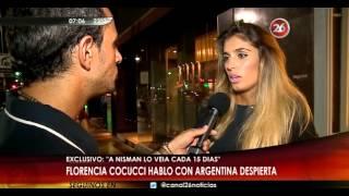 Florencia Cocucci habló con