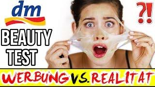 SKURRILE NEUE DM BEAUTY PRODUKTE im LIVE TEST! WERBUNG VS REALITÄT! LÜGEN? DROGERIE NEUHEITEN