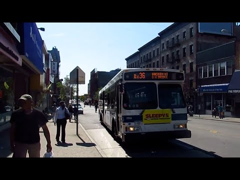 2003 Orion VII Gen-2 CNG #7769 on the Bx36 to Washington Hts at 181 Street & St.Nicholas Ave