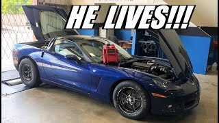 Grandpa Corvette UPDATE!!! Turbos Mounted! Good news and Bad news...