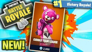 *NEW SKIN* CUDDLE TEAM LEADER LEGENDARY SKIN! (New Fortnite SKins!)