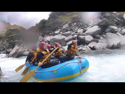 Queenstown Rafting @ Shotover River, New Zealand