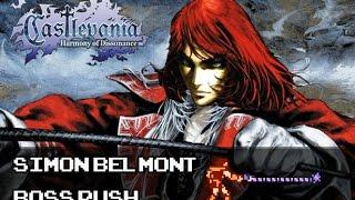 Castlevania: Harmony of Dissonance -Simon Belmont Run