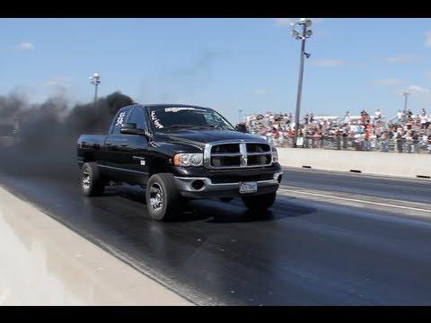 TX2K13 -1100HP Mega Diesel Truck vs Turbo...