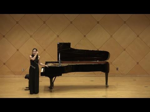 Michelle Nam, Piano; starts 3/24/19 at 730pm AZ time