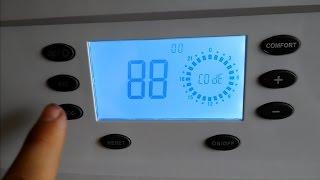Котёл Electrolux GCB 11 Basic Space Fi - вход в сервисный режим