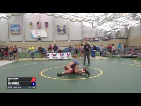 50 Round of 32  Drew Witham AWC vs. Gene Quodala Ranger WC