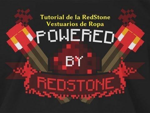 Tutorial RedStone Ropa Instantanea