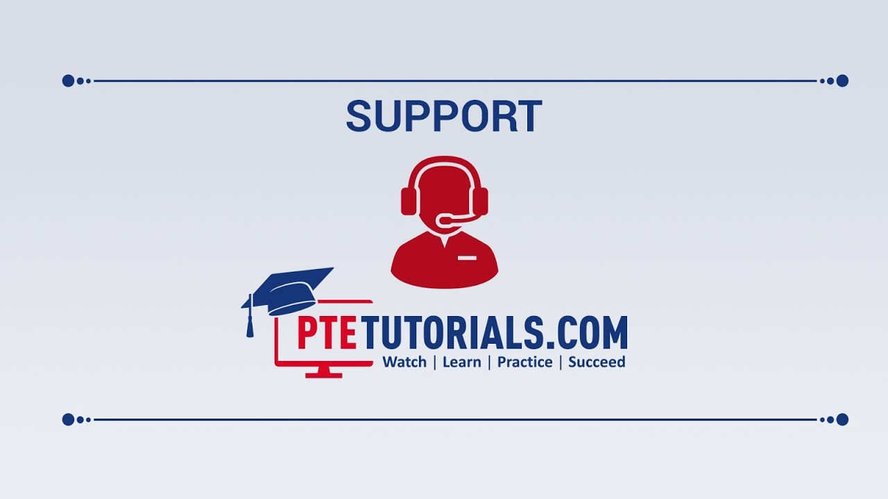 Guide to PTE Tutorials || Downloads Cart Support & Forum Section