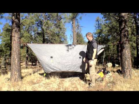 Continuous Ridge Line with Dutch Hook and Tarp Flyz or Stingerz