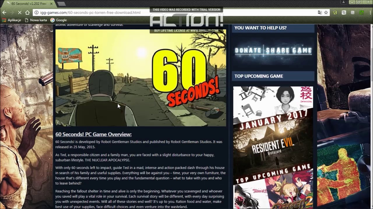 60 seconds free download igg