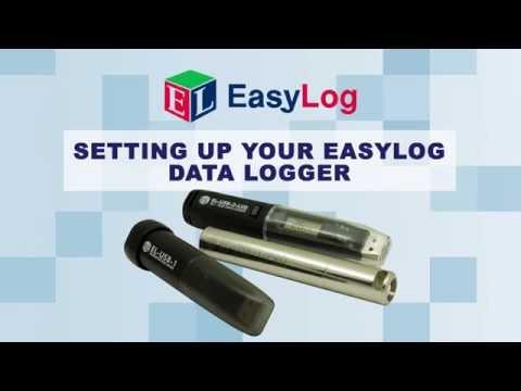EasyLog Data Logger Setup from Lascar Electronics